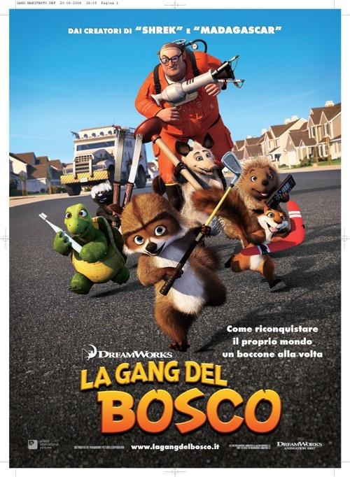 la locandina del film La gang del bosco