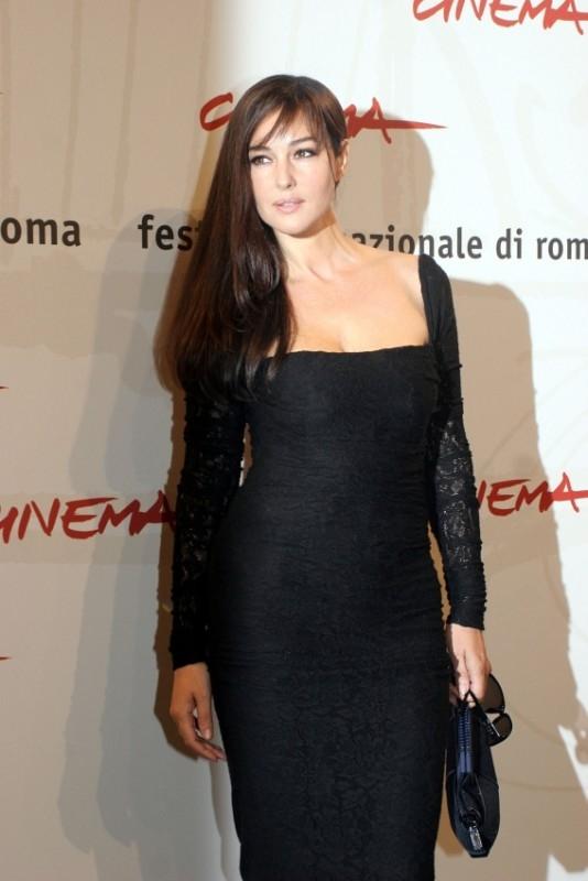 Monica Bellucci a Roma per la presentazione del film N (Io e Napoleone)