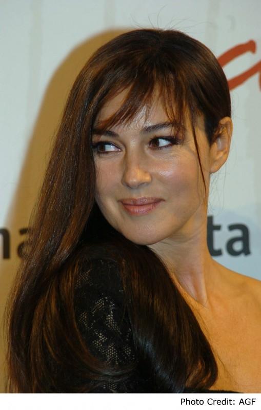 Monica Bellucci a Roma per presentare il film N (Io e Napoleone)