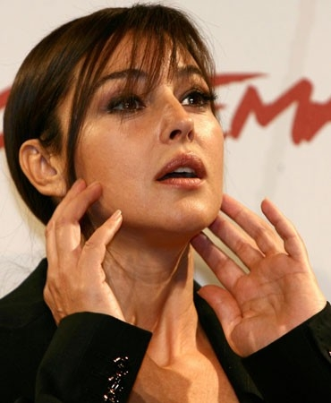Monica Bellucci a Roma per presentare 'The Stone Council'