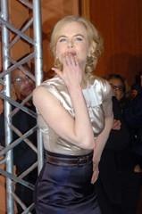 un bacio da Nicole Kidman alla Festa Internazionale del Cinema di Roma