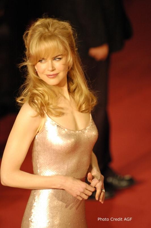 Una splendida Nicole Kidman alla Festa Internazione del Cinema di Roma 2006 per presentare il film Fur