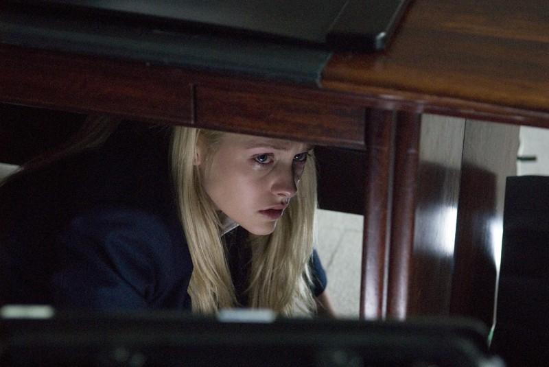 Teresa Palmer in una scena del film The Grudge 2