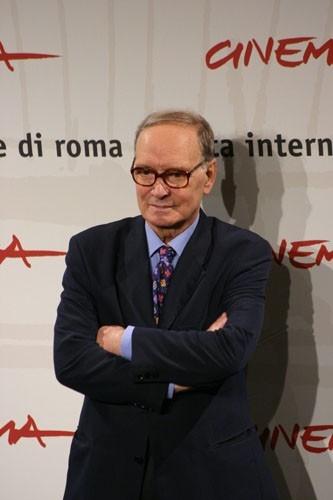Ennio Morricone a Roma per 'La sconosciuta'