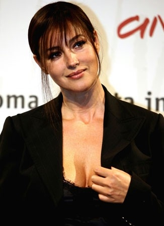 Festa del Cinema di Roma 2006: Monica Bellucci presenta 'The Stone Council'