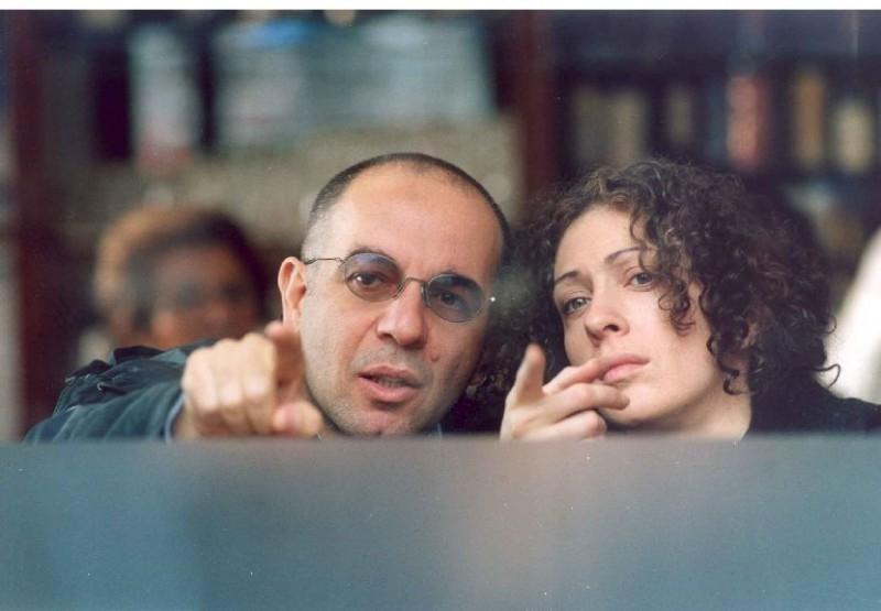 Giuseppe Tornatore e Ksenia Rappoport sul set de La sconosciuta