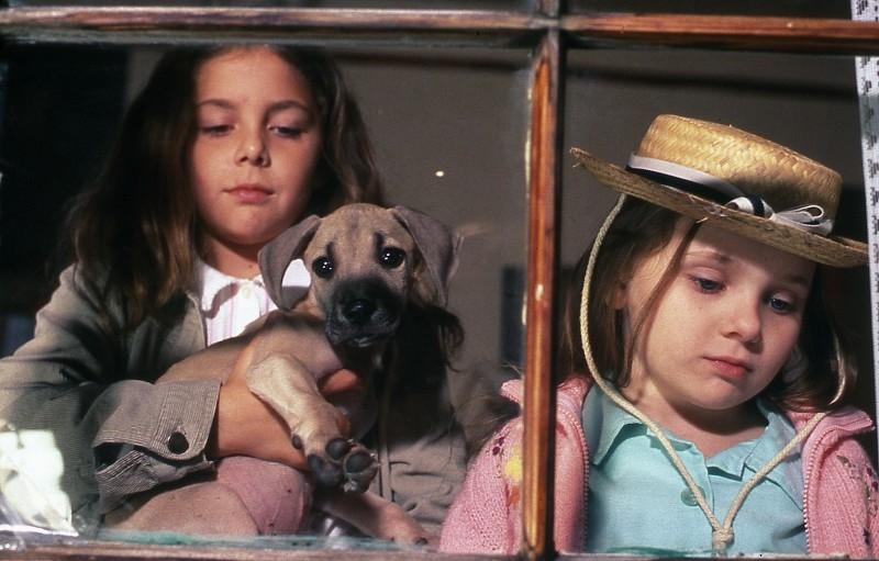 Abigail Breslin con Makenzie Vega in una scena del film CHestnut
