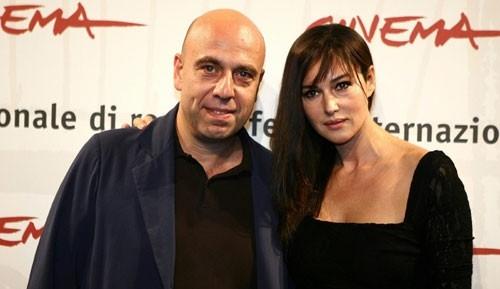 Monica Bellucci e Paolo Virzì a Roma per presentare il film N (Io e Napoleone)