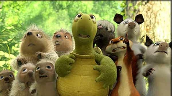 Una scena del film La gang del bosco