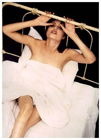 Angelina Jolie in uno scatto fotografico