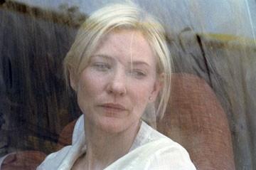 Blanchett in una scena di Babel