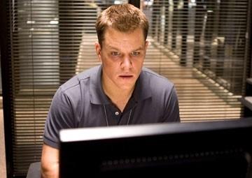 Matt Damon in una scena di The Departed - Il bene e il male