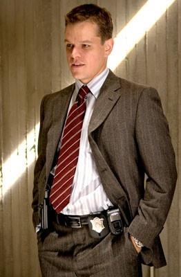 Matt Damon in una immagine di The Departed