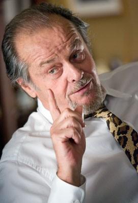 Primo piano di Jack Nicholson in una scena di The Departed