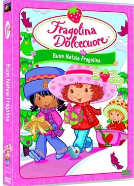 La copertina DVD di Fragolina Dolcecuore - Buon Natale Fragolina