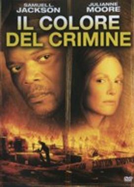 La copertina DVD di Il colore del crimine