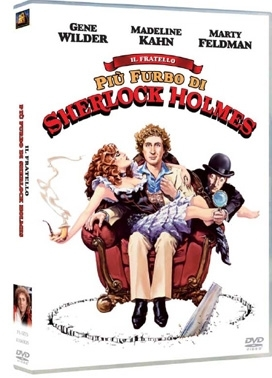 La copertina DVD di IL fratello più furbo di Sherlock Holmes