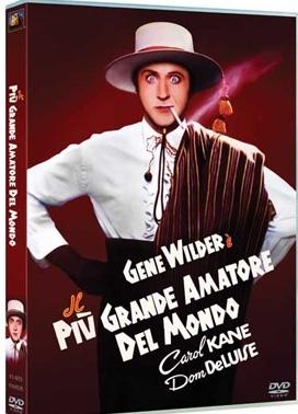 La copertina DVD di Il più grande amatore del mondo