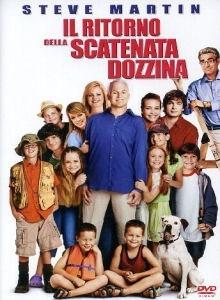 La copertina DVD di Il ritorno della scatenata dozzina