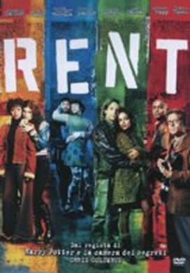 La copertina DVD di Rent