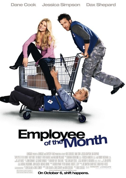 La locandina di Employee of the Month