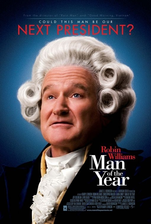 La locandina di Man of the Year
