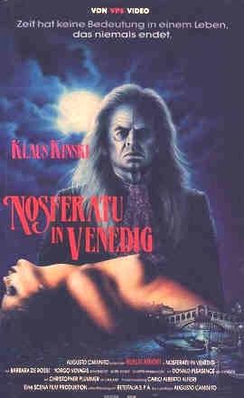 La locandina di Nosferatu a Venezia