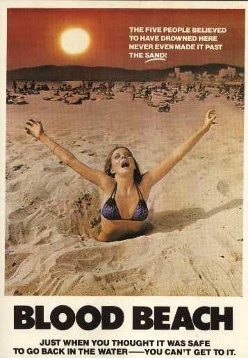La locandina di Spiaggia di sangue