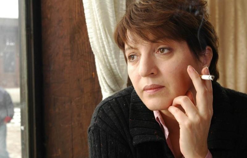 Mirjana Karanovic in una scena di Grbavica