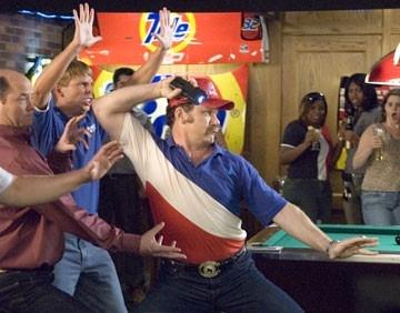 John C. Reilly nel film Ricky Bobby - la storia di un uomo che sapeva contare fino a uno