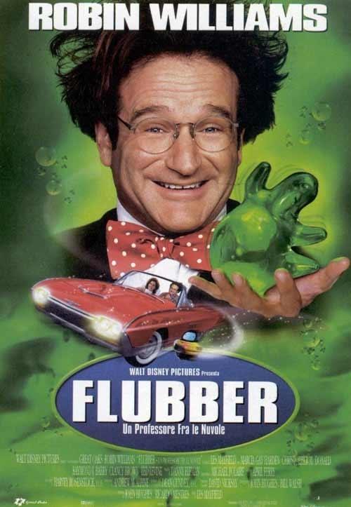 La locandina di Flubber - Un professore tra le nuvole
