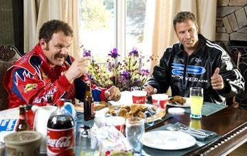 Will Ferrell con John C. Reilly in Ricky Bobby - la storia di un uomo che sapeva contare fino a uno