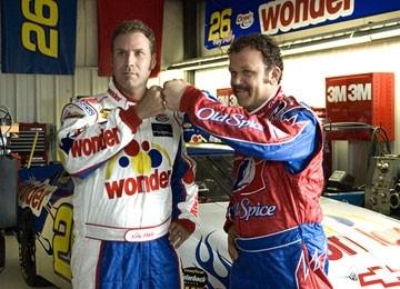 Will Ferrell e John C. Reilly nella commedia Ricky Bobby - la storia di un uomo che sapeva contare fino a uno
