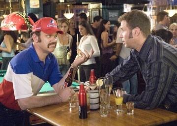 Will Ferrell e John C. Reilly in Ricky Bobby - la storia di un uomo che sapeva contare fino a uno