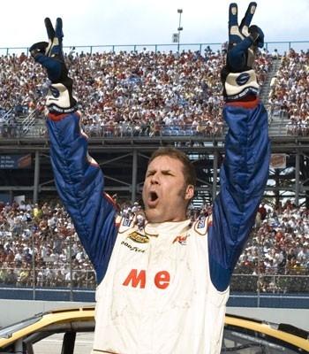 Will Ferrell nei panni di Ricky Bobby - la storia di un uomo che sapeva contare fino a uno
