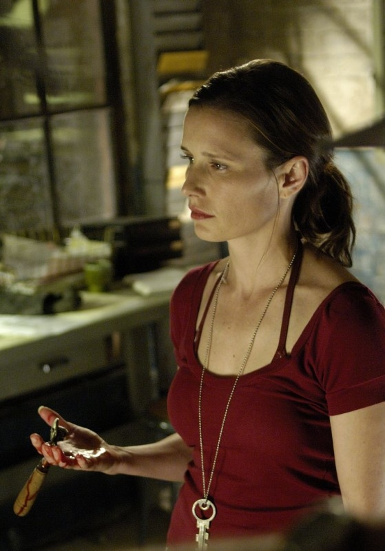 Shawnee Smith in una scena di Saw 3