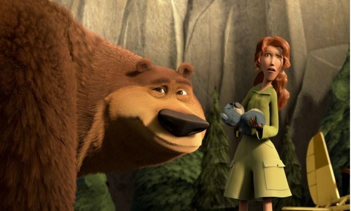 Una scena del film Boog e Elliot a caccia di amici