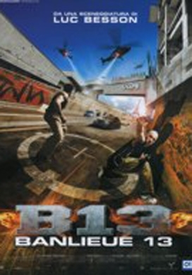 La copertina DVD di Banlieue 13