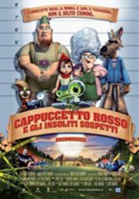 La copertina DVD di Cappuccetto rosso e gli insoliti sospetti
