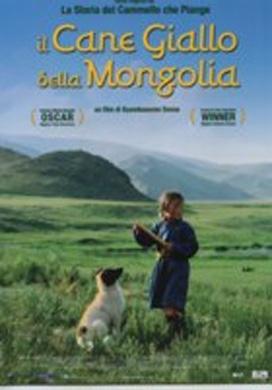 La copertina DVD di Il cane giallo della Mongolia