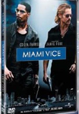 La copertina DVD di Miami Vice