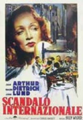 La copertina DVD di Scandalo internazionale