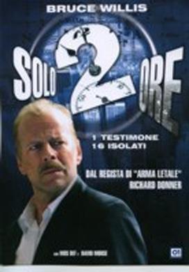 La copertina DVD di Solo due ore