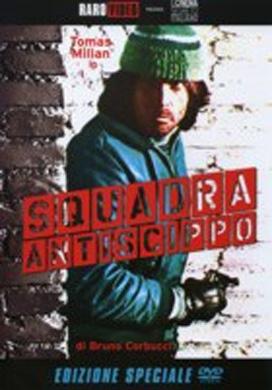 La copertina DVD di Squadra antiscippo