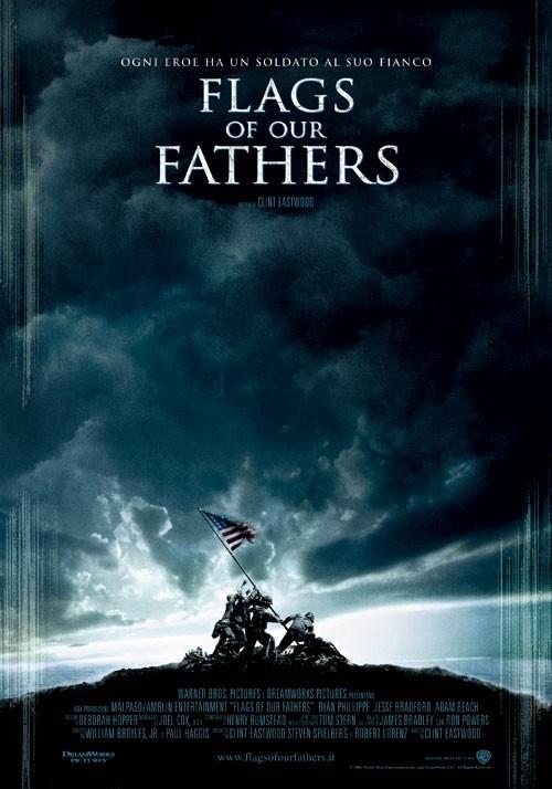 La locandina italiana di Flags of Our Fathers