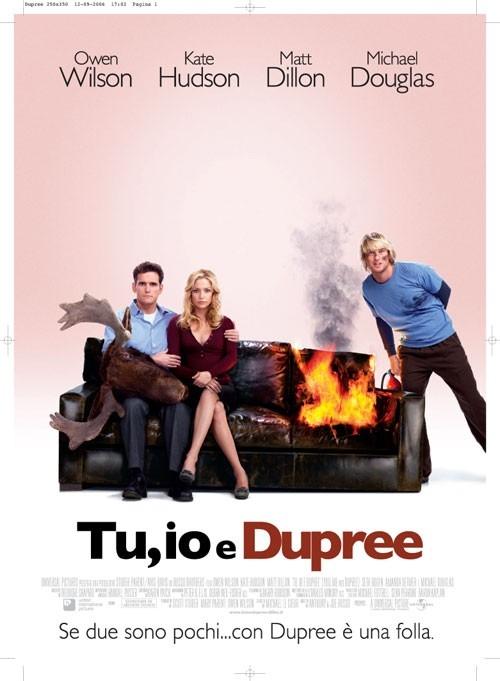 La locandina italiana di Tu, io & Dupree