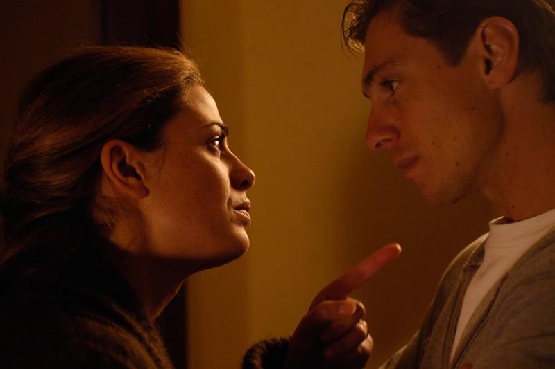 Vanessa Incontrada e Giorgio Pasotti in una scena del film Quale amore