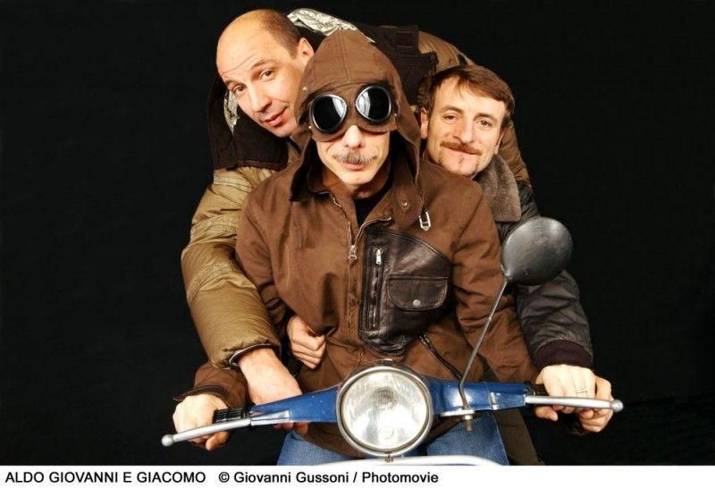 Aldo, Giovanni e Giacomo per Anplagghed al cinema