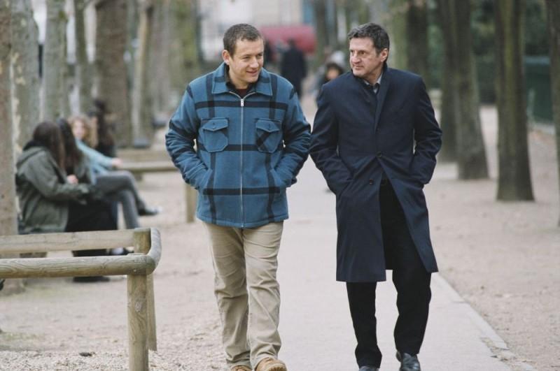 Dany Boon e Daniel Auteuil in una scena de Il mio migliore amico
