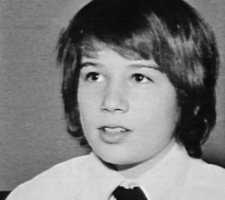 Un giovanissimo David Duchovny